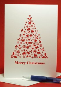 Love at First Bark Holiday Card