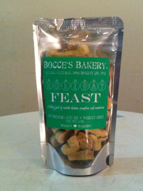 Bocce's Bakery Holiday Feast Treats