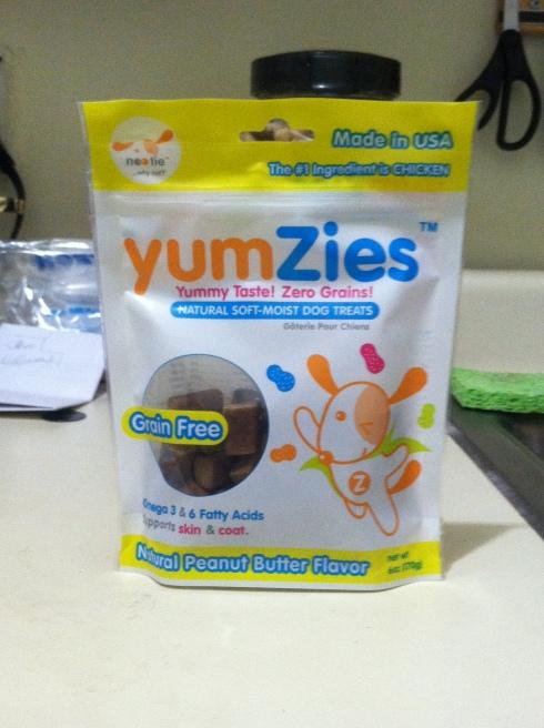 Nootie's Yumzies Peanut Butter flavored treats