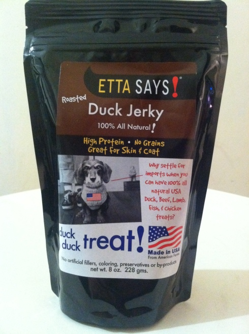 Etta Says Duck Jerky Treats