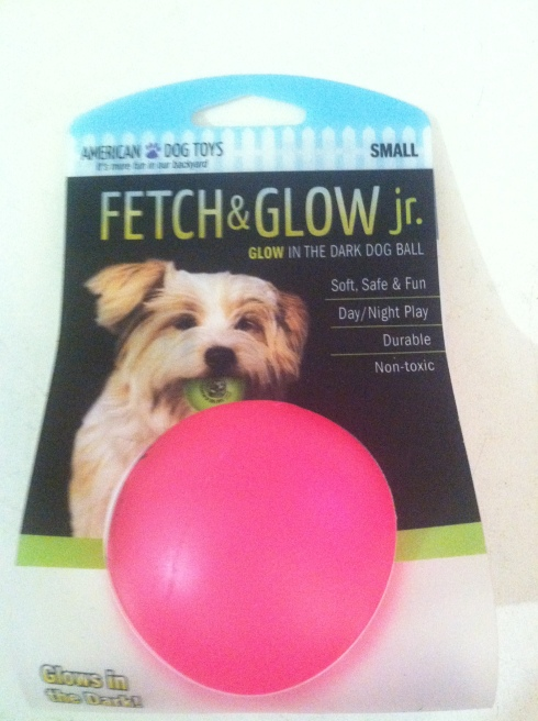 American Dog Toy's Fetch & Glow Ball