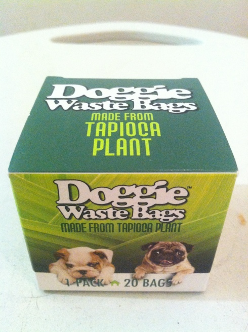 Eco Dog Planet's Tapioca Doggie Waste Bag's