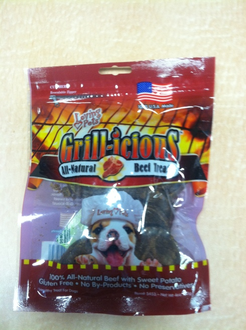 Loving Pets' Grill-Icious Beef Treats